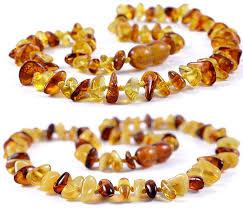 2 pieces cognac lemon cognac lemon white baltic amber teething necklace