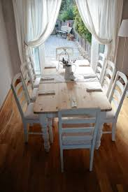 Dining Tables Rustic Chic Dining Room Retro Kitchen Furniture