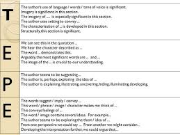 mr gray s blog gcse english literature tepe sentences