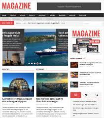 19 News Html 5 Themes Templates Free Premium Templates