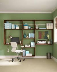 green home office. cool home office storge ideas green e