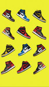 Air Jordan 1 Background Wallpaper ...