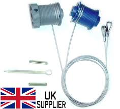 cardale cd pro safelift garage door cables drums wires wes b q pulleys pair