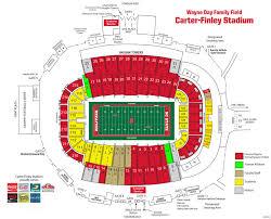 Nccu Football Stadium Seating Chart Ncsu Carter Finley Stadium Seating Chart Bedowntowndaytona Com
