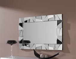 amazing idea large rectangular wall mirror rectangle horizontal frameless gold ornate