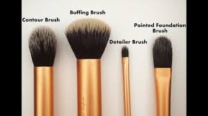 puna brush set review dupes of real techniques core collection