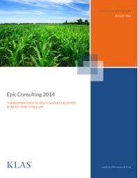 Epic Consulting 2014 The Bumper Crop Of Epic Consulting Firms - Klas ...