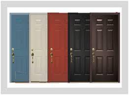 6 panel steel entry door only 1 599 tgs garage doors nj garage door repair pany