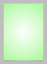 Brochure Graphic Design Background Green Gradient Ray Burst Page Template Vector Brochure