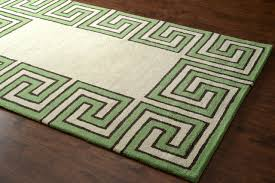nuloom decor wool rick greek key green rug