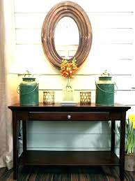 round entry table foyer ideas accent decorating lovable entrance decor hall
