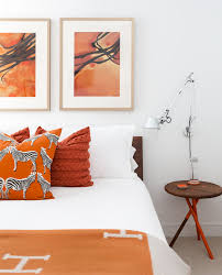 Orange Accessories For Bedroom Orange Home Accessories For Every Room Of The House