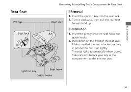owner manual honda cbrrr 54 removing installing