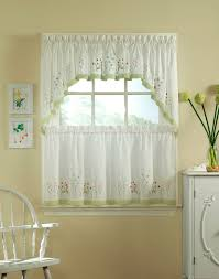Short Curtains In Living Room Cafe Curtains For Living Room Achim Ombre Panel Chenille Striped