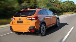 2018 subaru xv interior. interesting interior 2018 subaru xv 20is rear 34 in sunshine orange 2017 throughout subaru xv interior
