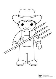 Preschool Farm Coloring Pages Dapmalaysiainfo