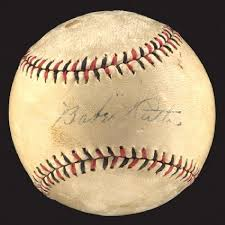 the best babe ruth autographed baseball ideas  babe ruth autographed baseball jsa official league baseball autographed by babe ruth new york yankees star