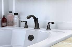 faucet 86440brb in terranean bronze by moen
