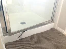 marvelous replace broken glass shower door replacing