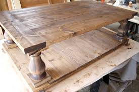 DIY Restoration Hardware Coffee Table Good Looking