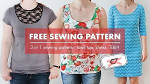 Free Sewing Patterns Online Delectable Free Tank Top Sewing Pattern Online Model Aviation
