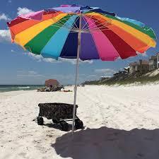 Image Walmart Rainbow Beach Umbrella With Carry Bag Walmartcom Walmart Impact Canopy Ft Rainbow Beach Umbrella With Carry Bag Walmartcom