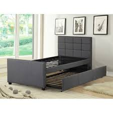 twin platform bed with trundle. Unique With Mack U0026 Milo Algrenon Twin Platform Bed With Trundle On With W