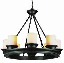 wagon wheel chandelier lights fixtures new dinning room eight light rubbed oil bronze tea stain heavy