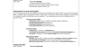 Qualification Resume Mind Mapping As A Tool In Mathematics
