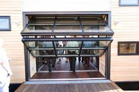 Perfect Folding Glass Garage Doors Amazing On Door Openers With Home For Creativity Design