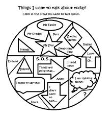 Free art therapy counseling group activity worksheet   Counseling ...