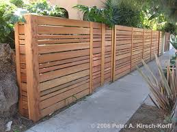 Horizontal Fence Styles FENCE DESIGN GALLERY