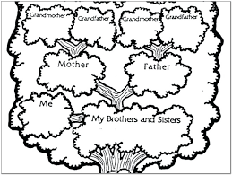 Drawing A Family Tree Template Basic Family Tree Template Word Free Naveshop Co
