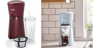 An ideal solution is to have your very own iced coffee maker at home, so you can enjoy the contents of this delectable beverage machine any time of the day. Mr Coffee Is Selling An Iced Coffee Maker Complete With A Tumbler And I Want It Now