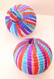 How To Make Tissue Paper Balls Decorations Sukkah Decor Revamped Paper Ball Lanterns creative jewish mom 16