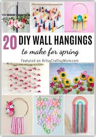 20 diy wall hangings for spring