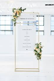 Custom Copper Wedding Seating Chart Stand In 2019 Seating
