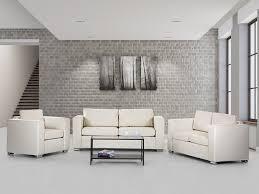 Sofa Set For Living Room Living Room Leather Sofa Set Beige Helsinki