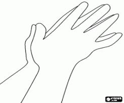 Kleurplaat Biddende Handen Kleurplaten