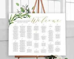 Seating Chart Etsy
