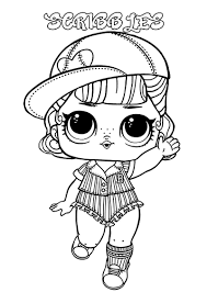 I hope you enjoy these cute lol dolls coloring sheets. Lol Surprise Dolls Coloring Pages Print Them For Free All The Series