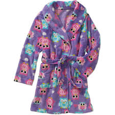 Fuzzy robe for teens