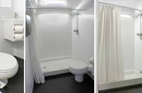 Mobile Shower Trailer Rentals Portable BathroomShower Stall Rental Enchanting Trailer Bathroom Rental