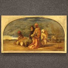 Oil on canvas landscape by anton muller. William James Muller Orientalist Painting 1843 For Sale At Pamono