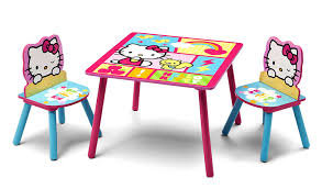 table and chair set kids com delta children table u0026 chair set