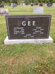 Bernard Gee (1916-1947) - Find A Grave Memorial