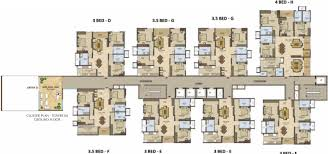 2729 sq ft 4 BHK 5T Apartment for Sale in Prestige Group High Fields  Gachibowli Hyderabad