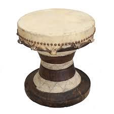 African Drum Coffee Table Viyet Designer Furniture Tables Antique African Drum Side Table