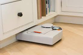 Kitchen Floor Cleaners Flooring Ideas White Robot Wood Floor Cleaning Over Laminate