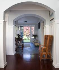 Entry Way Tile Hall Beach with Arch Archway Baby Blue